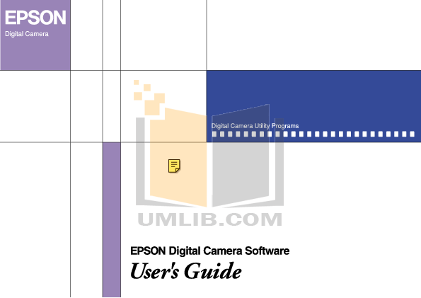 pdf for Epson Digital Camera PhotoPC 3100Z manual