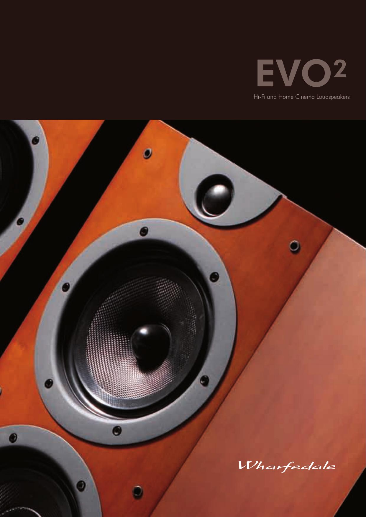 pdf for Wharfedale Speaker EVO2-50 manual