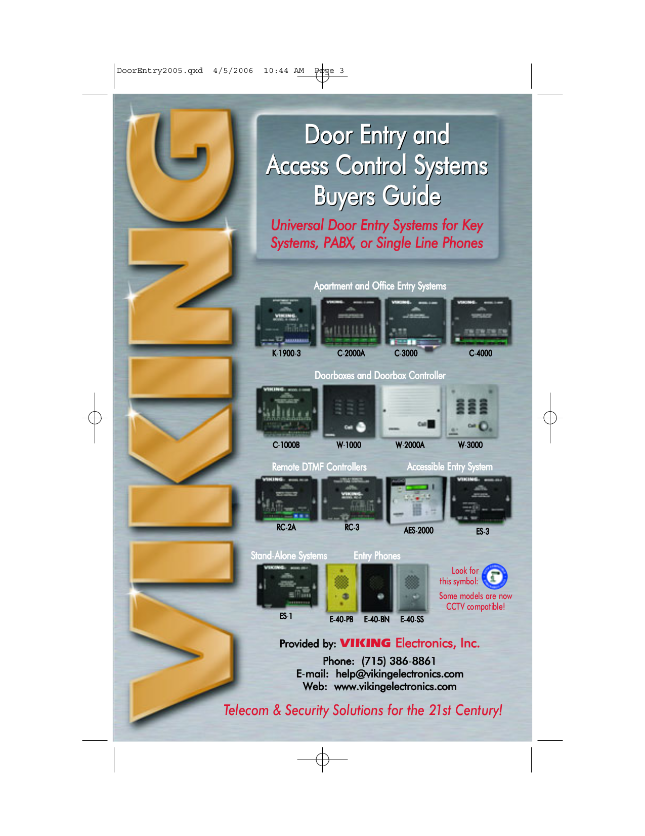 Viking Door Entry Systemsviking R 6 Gate Operator Parts R6 C 1000b Wiring Diagram For Pdf Manual Other K 1900 3 Systems