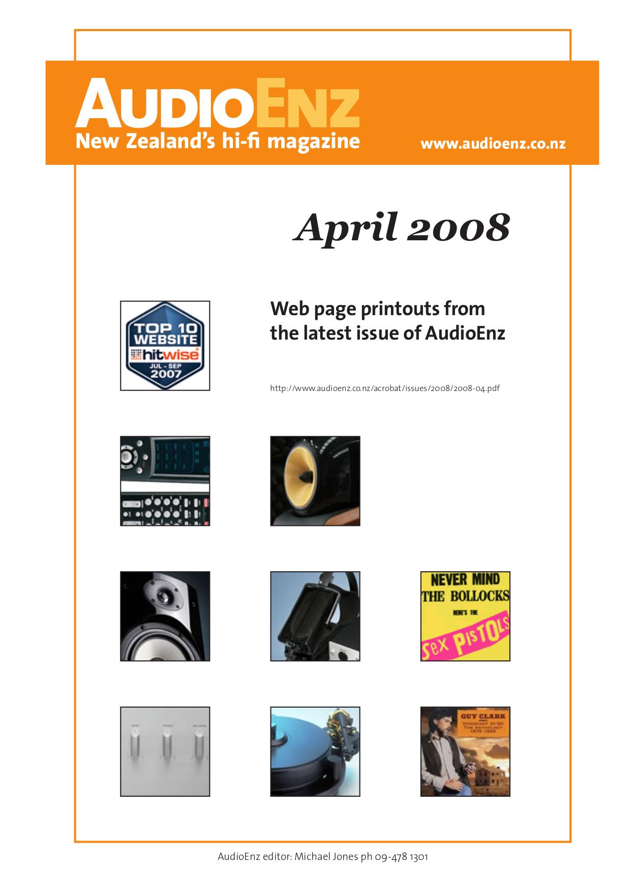 pdf for PSB Speaker System G Design GB1 manual