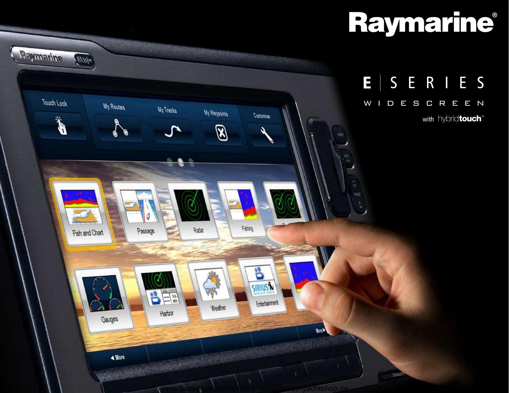E120 manual Raymarine
