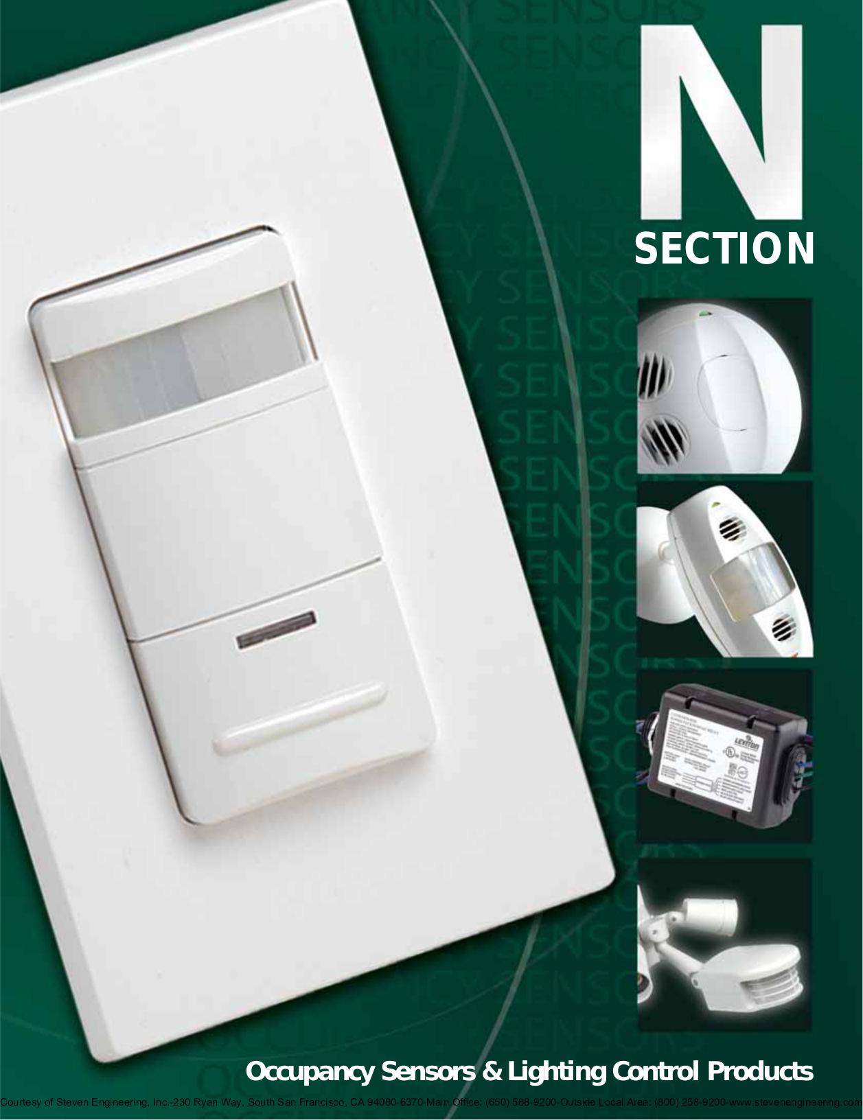 Leviton Z Max Lighting Control Panel