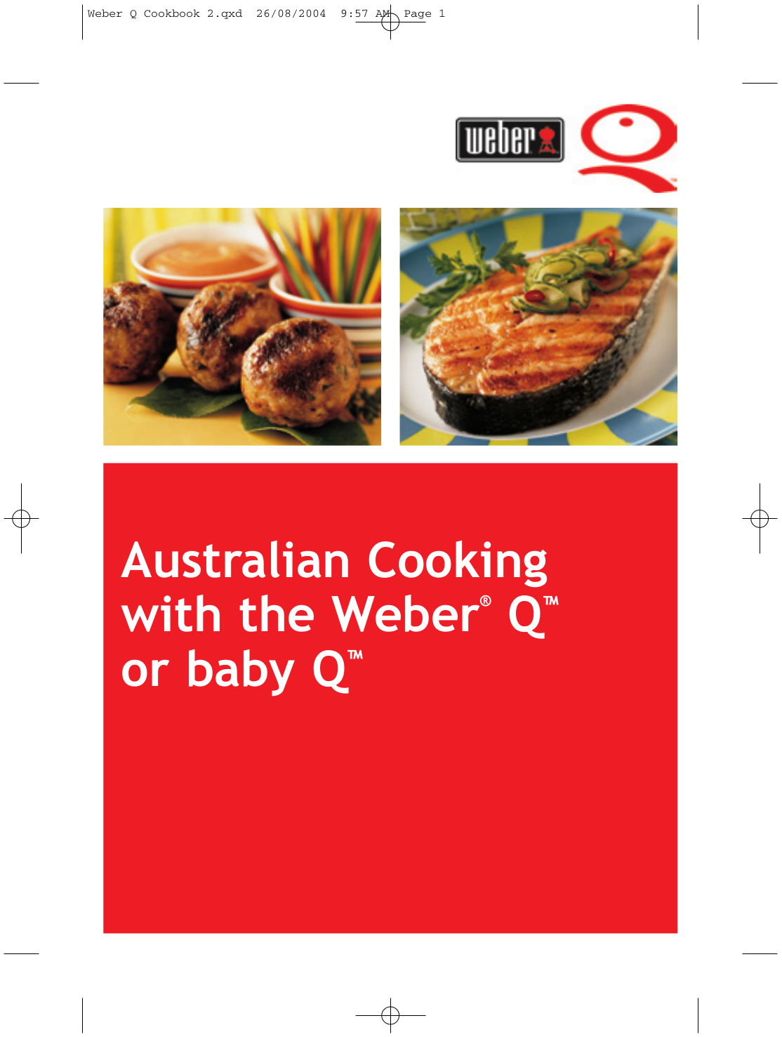 pdf for Weber Grill Q-100 manual