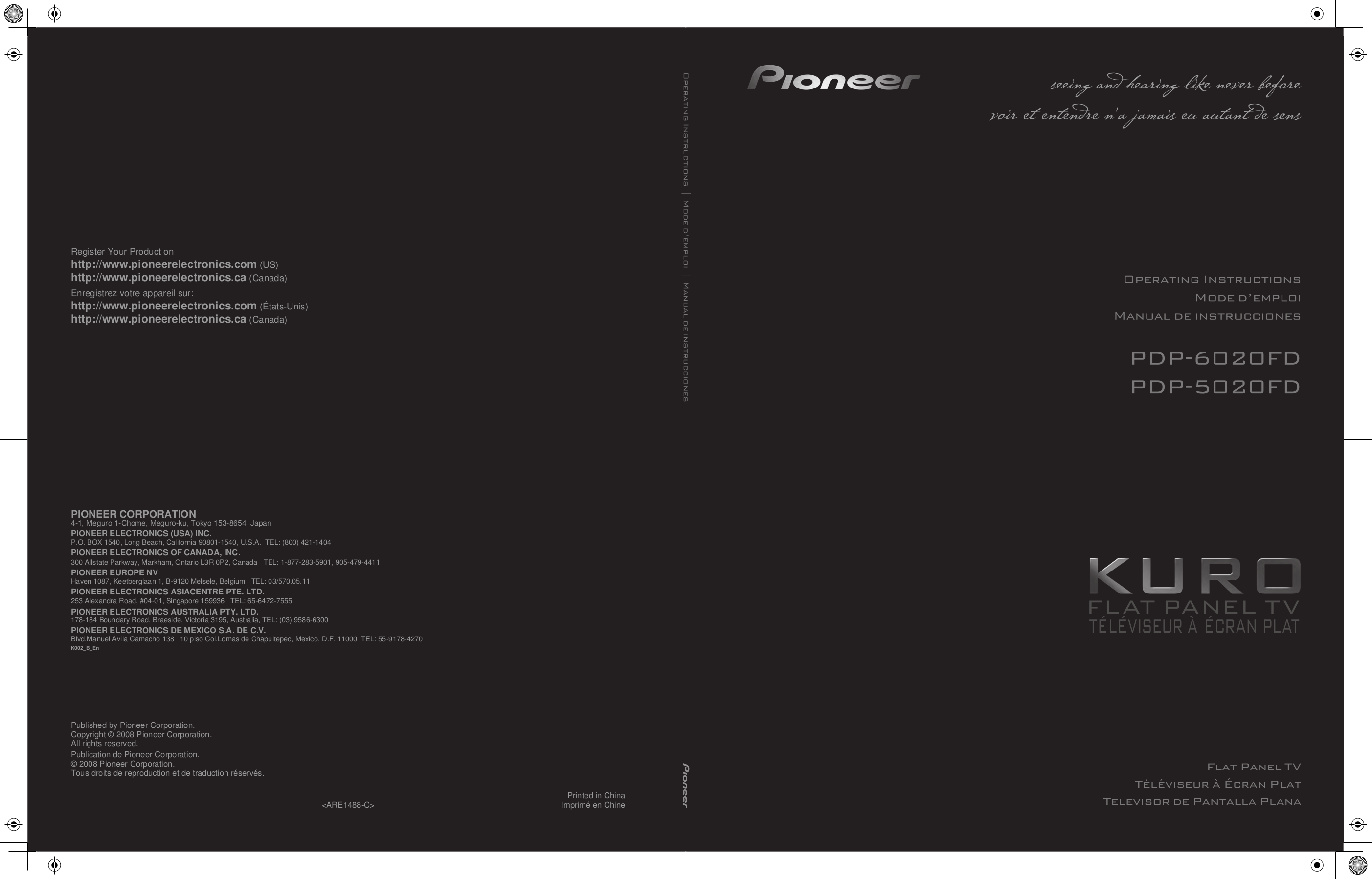 pdf for Rotel Washer RB-1080 manual