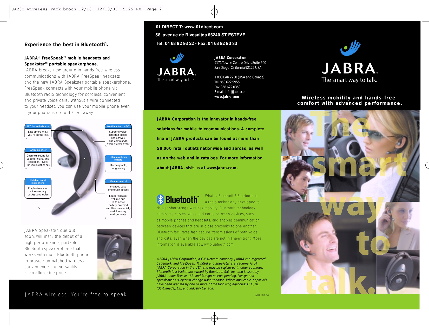 Jabra Bluetooth 250 Manual