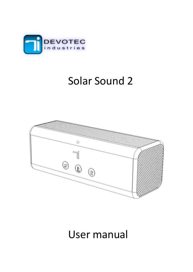 pdf for LaCie Speaker Sound2 manual