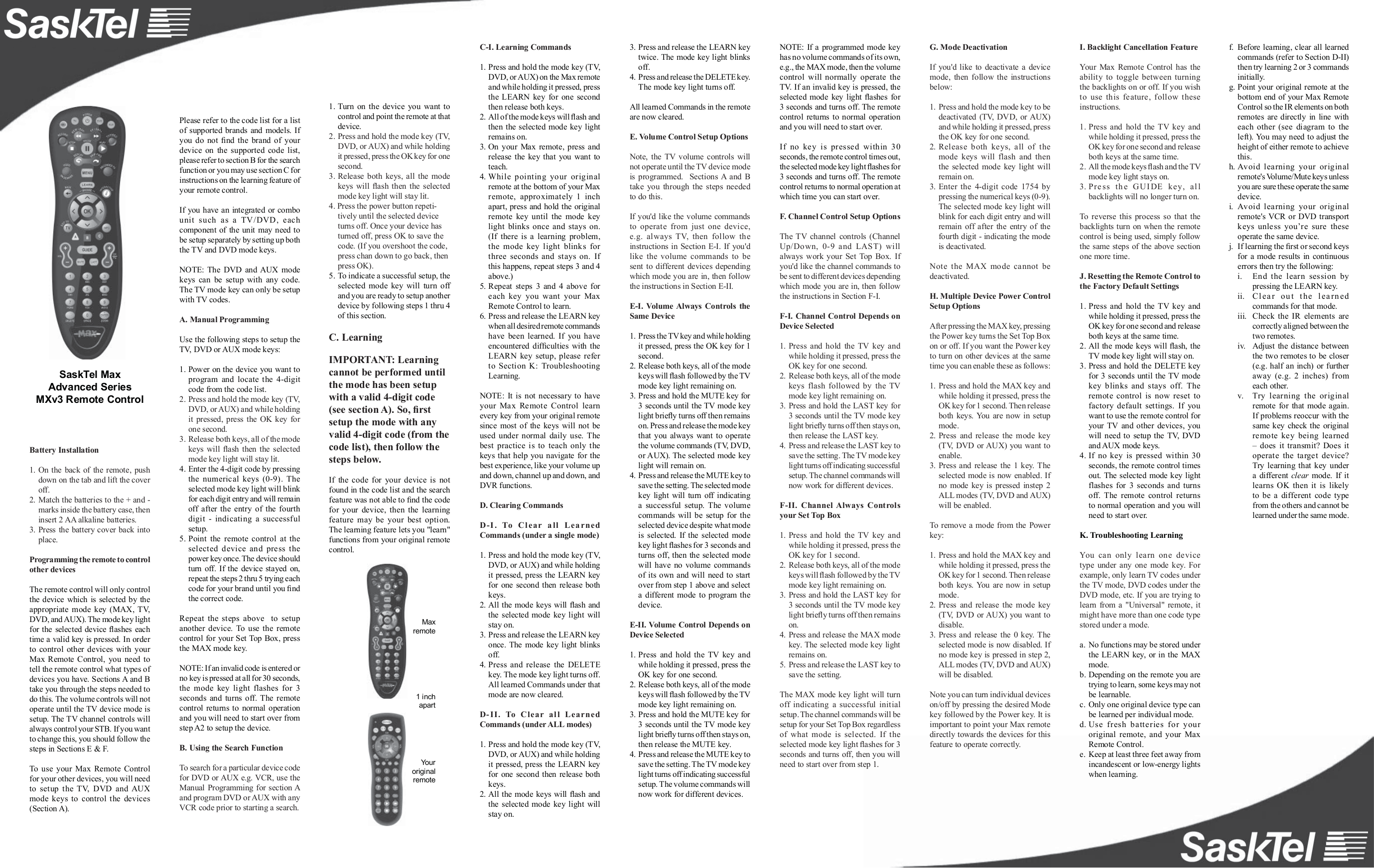 pdf for Lenoxx Other 1135 Cassette Players manual
