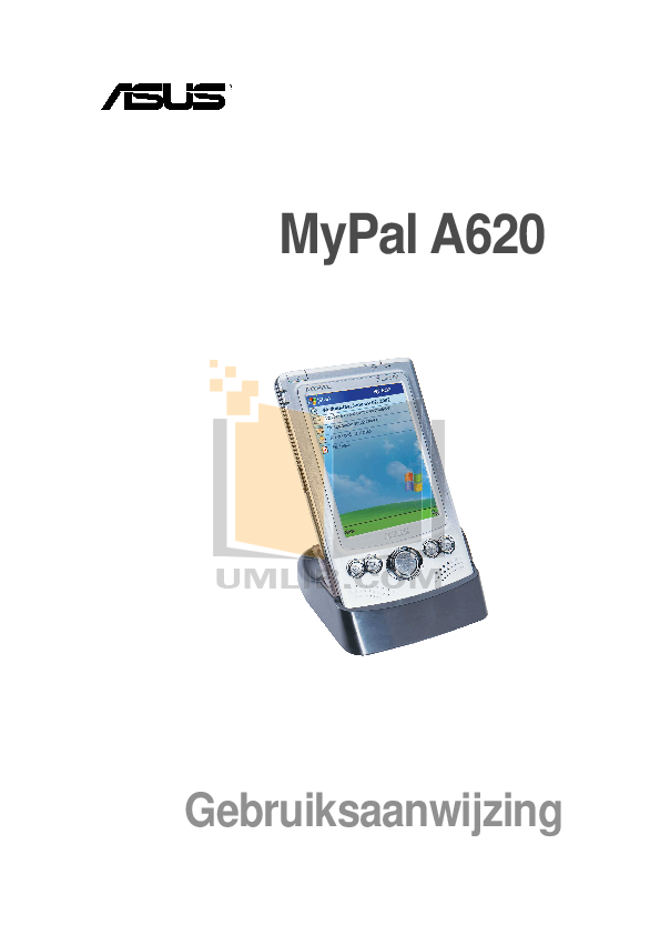 pdf for Asus PDA MyPal A620BT manual