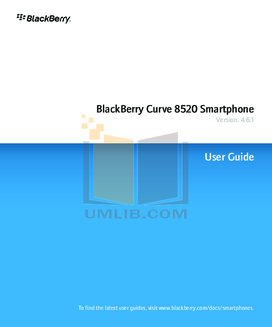 Blackberry Curve 8520 Manual Pdf