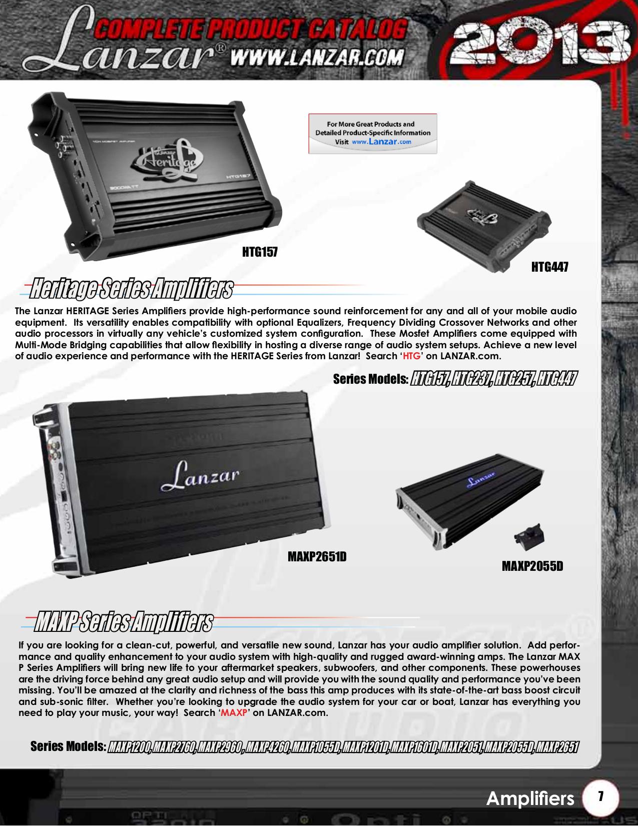 Lanzar Subwoofer Vibe VW104 pdf page preview