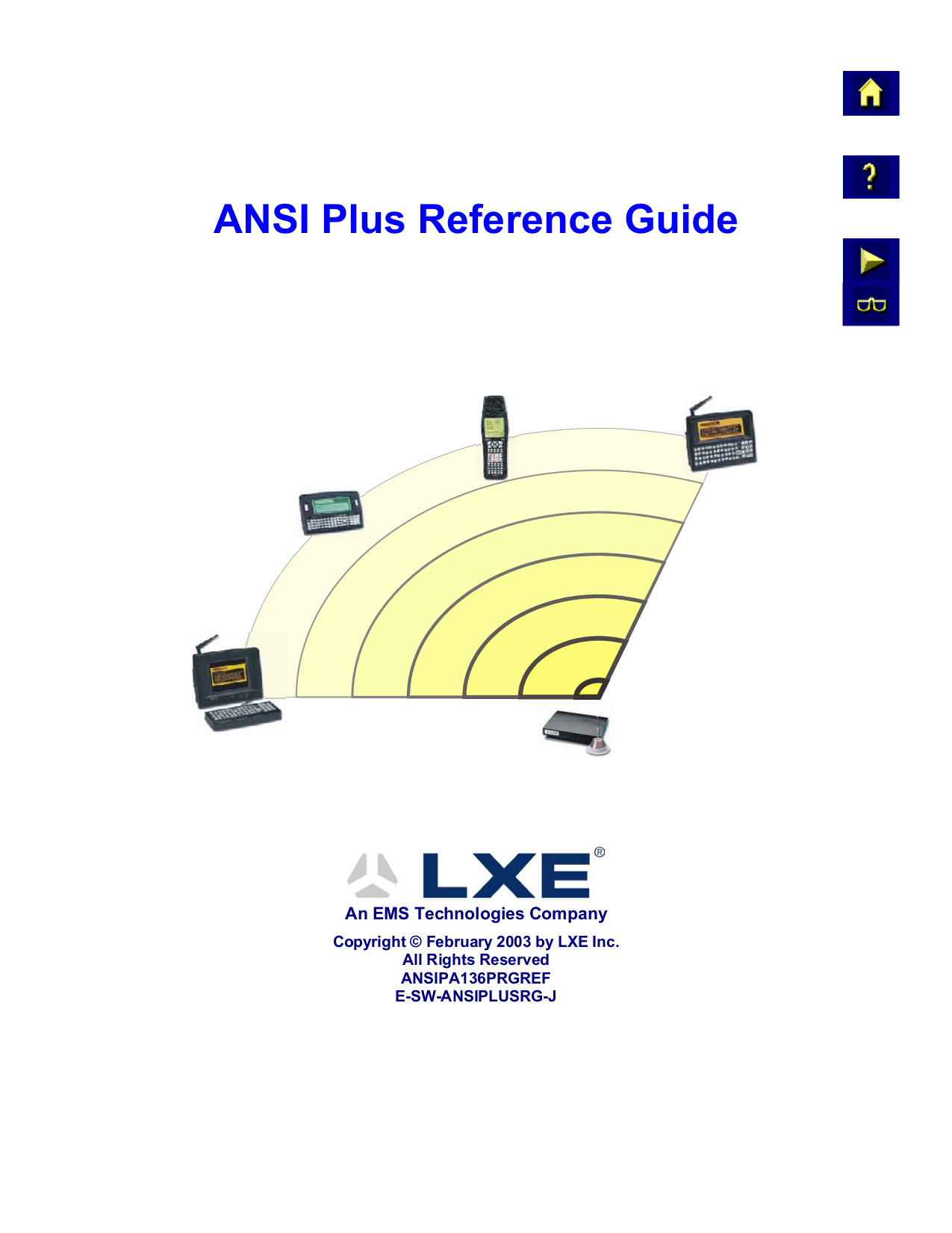 pdf for LXE Other 5460 Modems manual