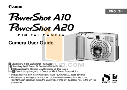 pdf for Canon Printer CP-10 manual