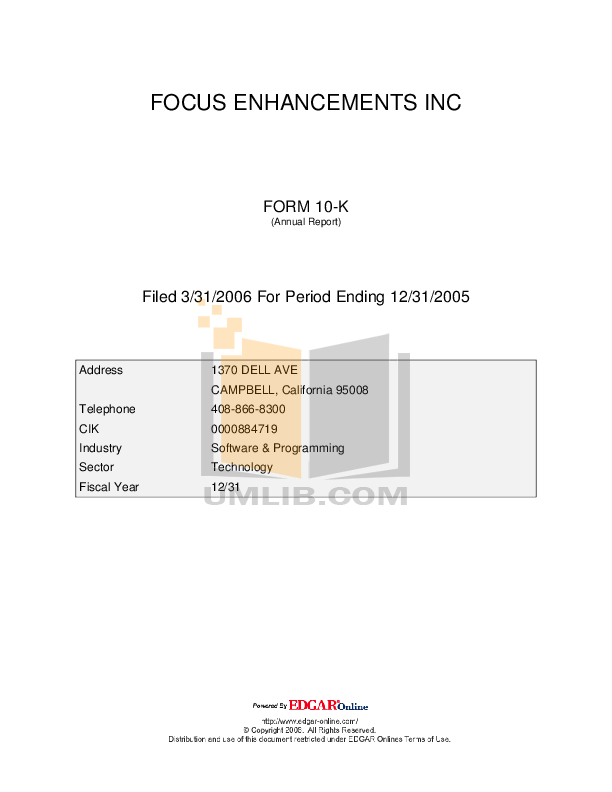 pdf for Focus Storage Videonics Firestore manual
