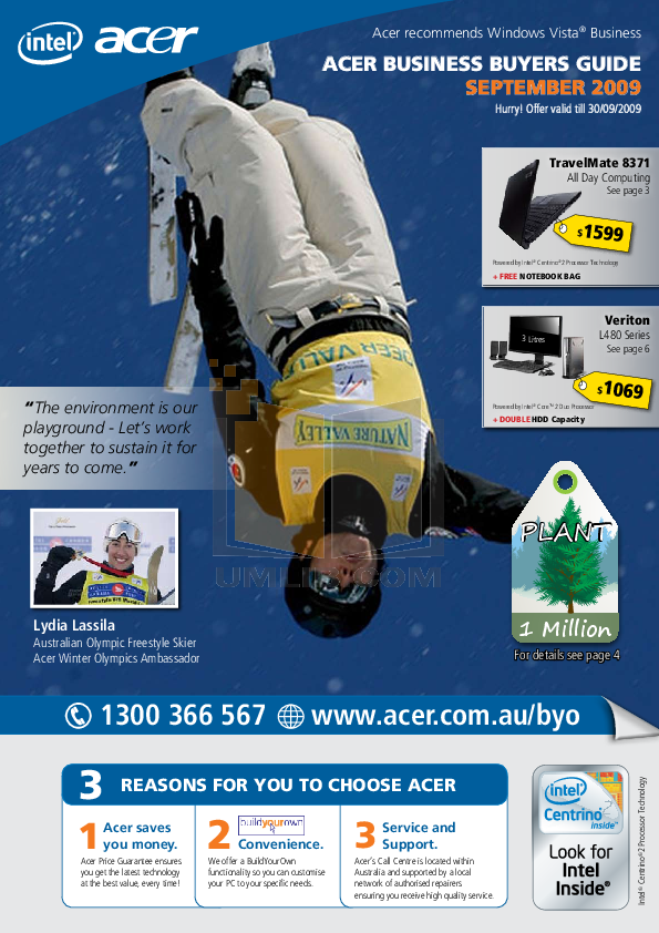 pdf for Acer Monitor B273HU manual