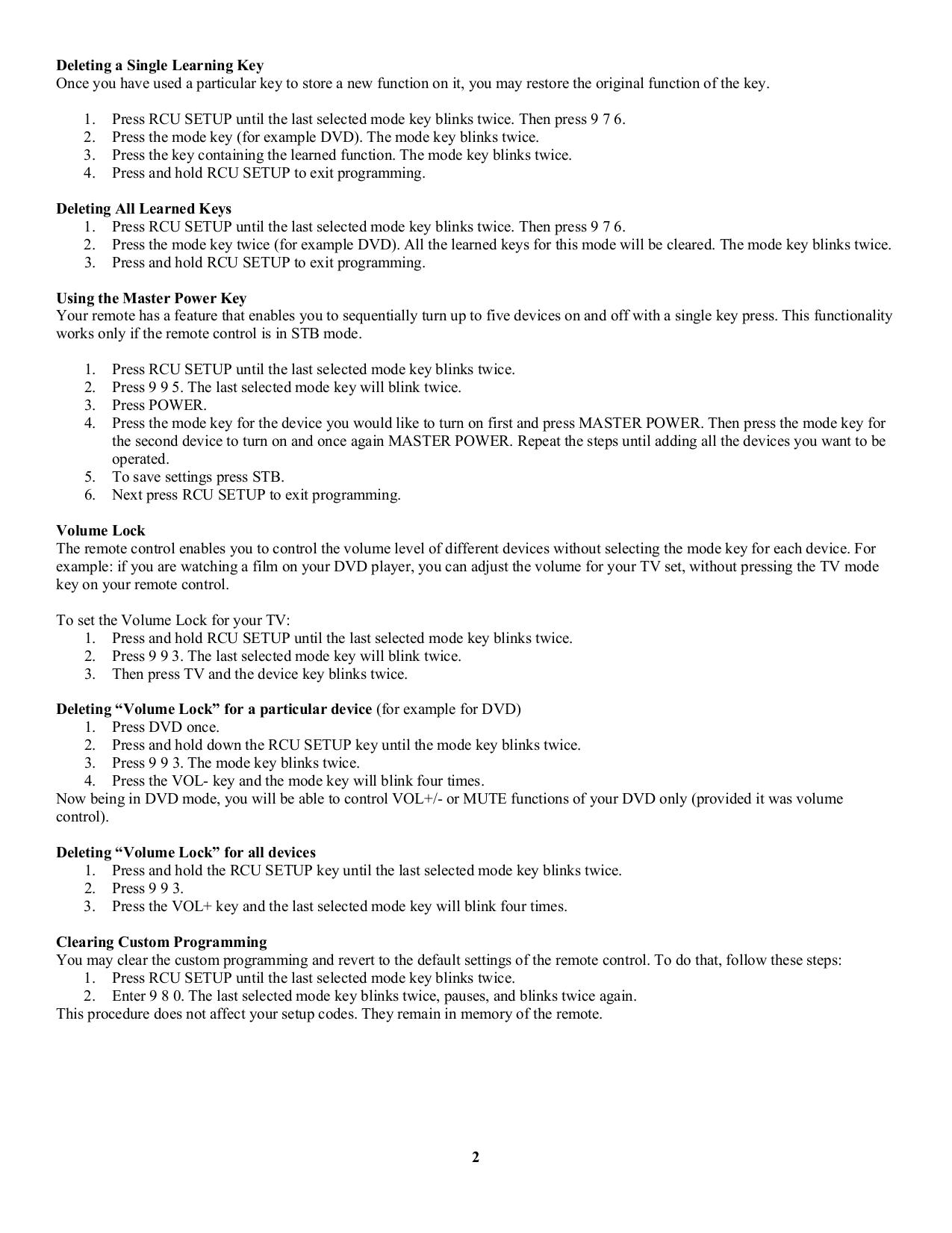 Lenoxx TV TV-5 pdf page preview