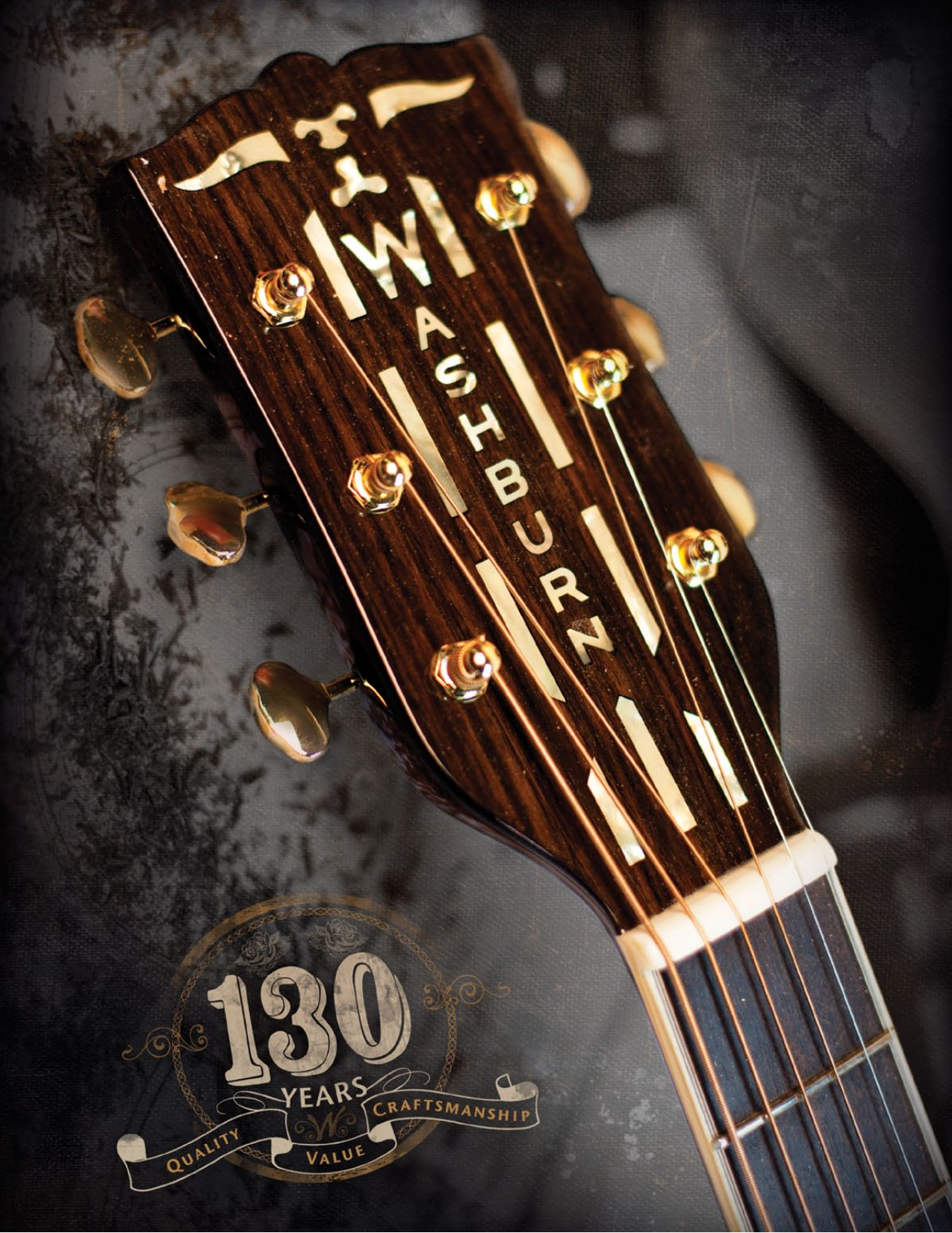 pdf for Washburn Guitar WD20SCE manual