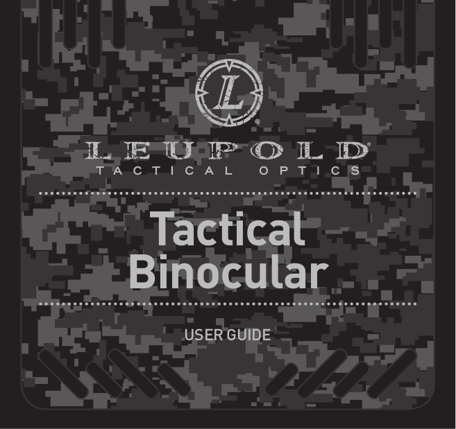 pdf for Leupold Binocular GREEN RING BINOCULAR manual