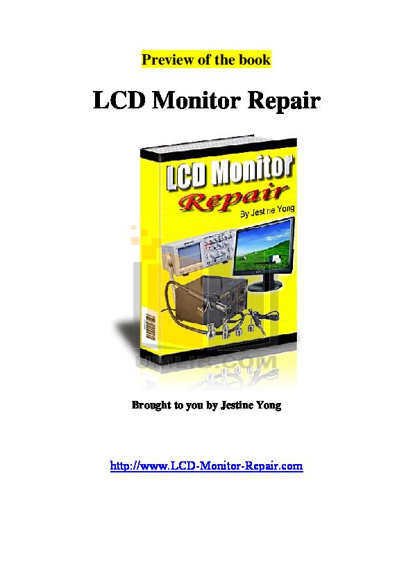 pdf for Acer Monitor AL2032W manual