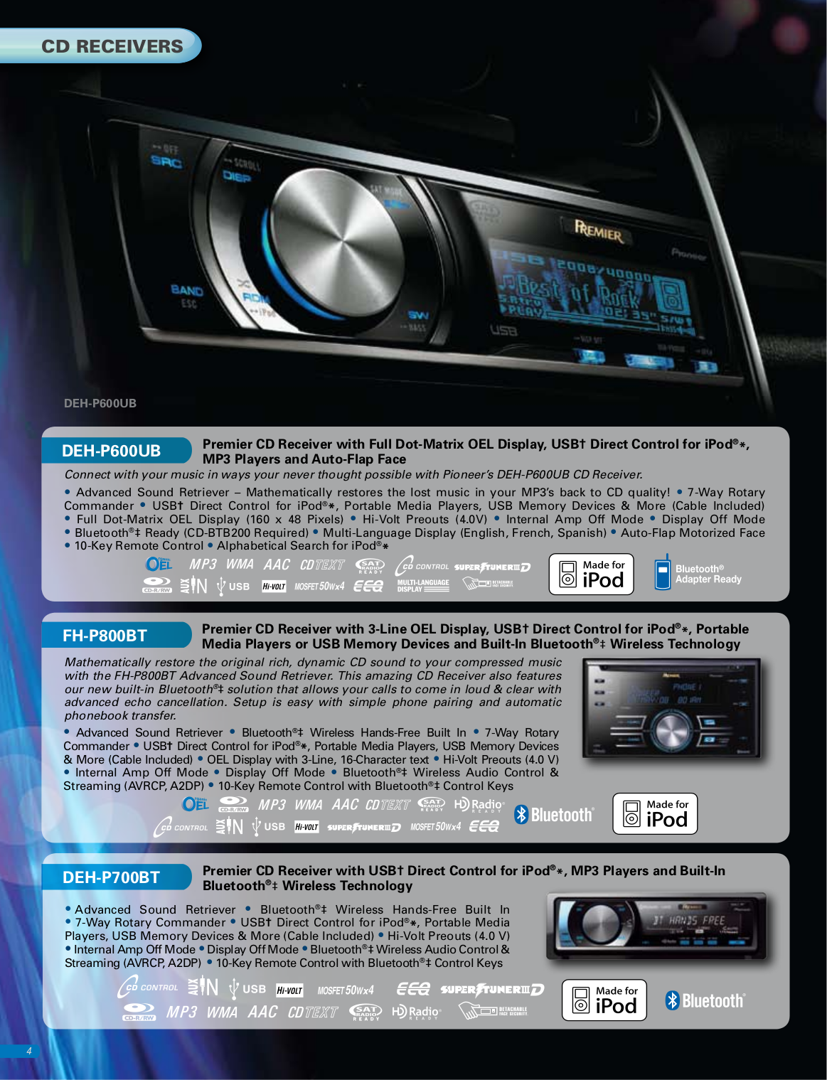 Pdf Manual For Pioneer Car Video Avh P4000dvd Page Preview
