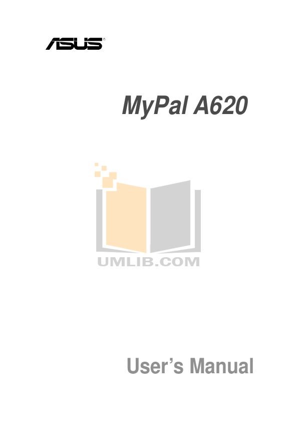 pdf for Asus PDA MyPal A620 manual