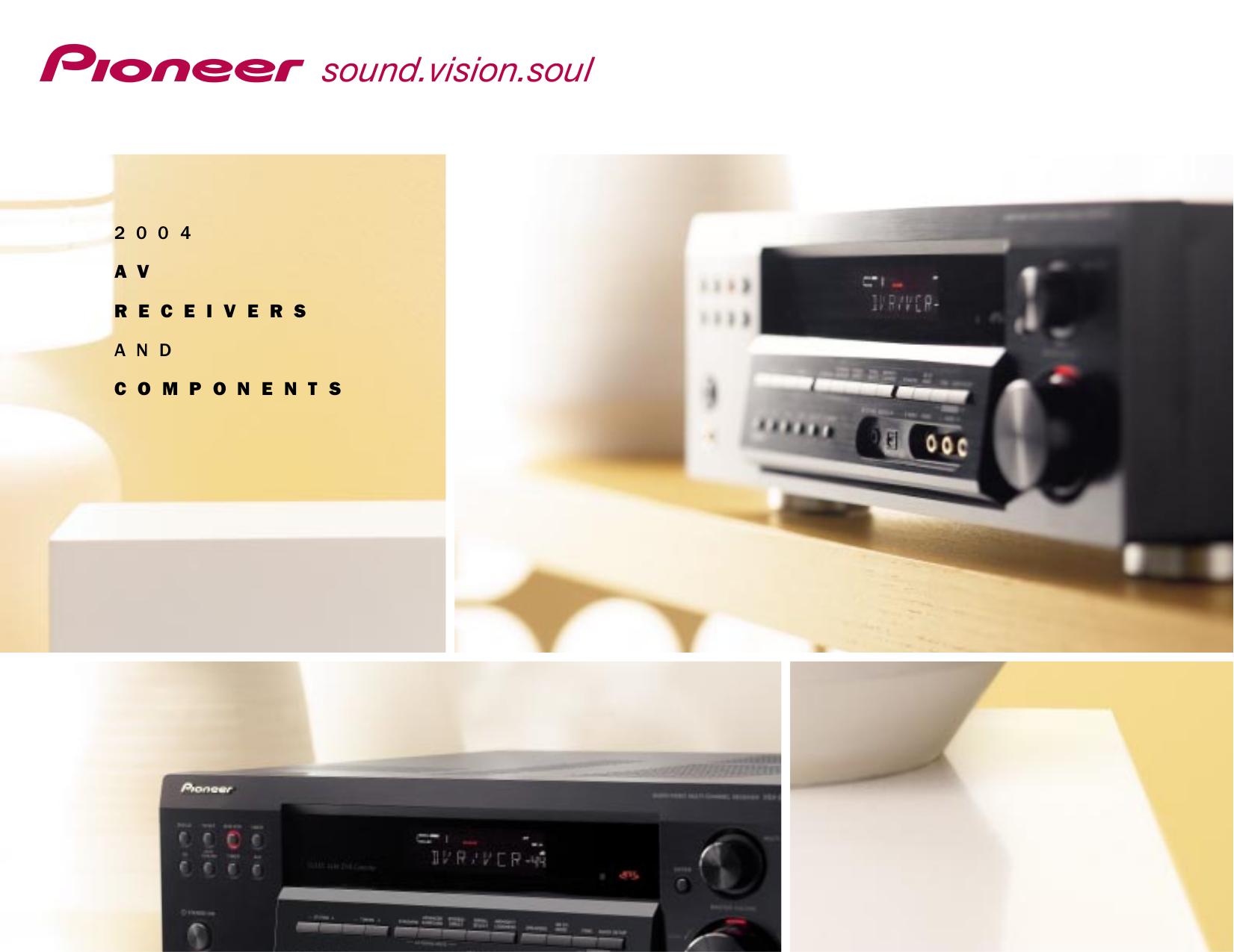 pdf for Pioneer Headphone SE-DIR800C manual