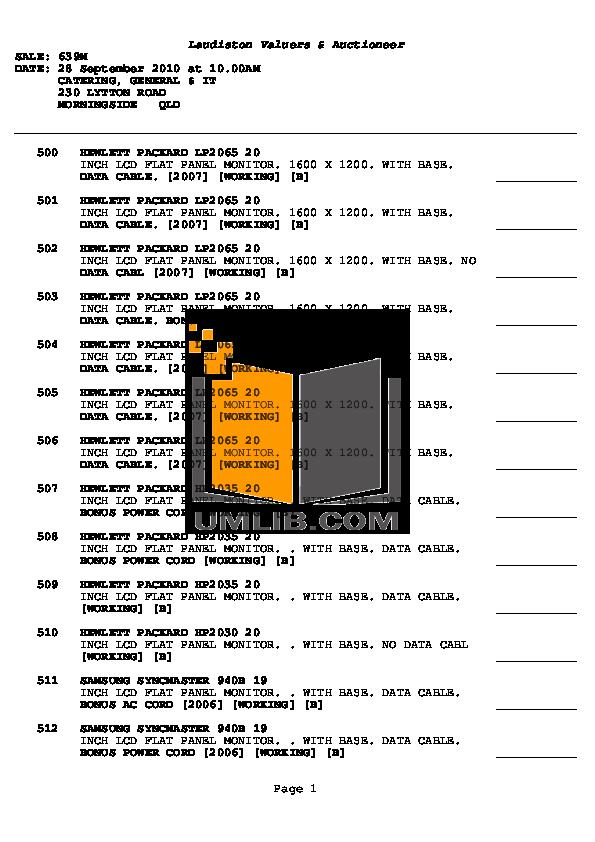 pdf for Acer Monitor AL1517 manual