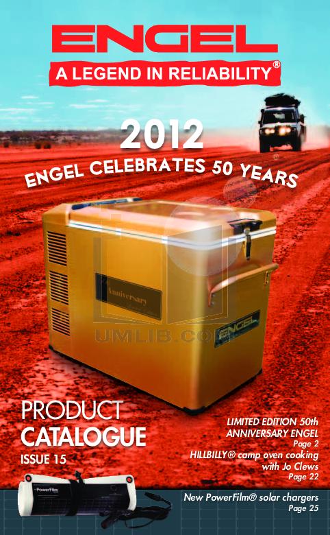 pdf for Engel Freezer MD14E manual