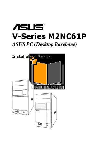 pdf for Asus Desktop V3-M2NC61P manual