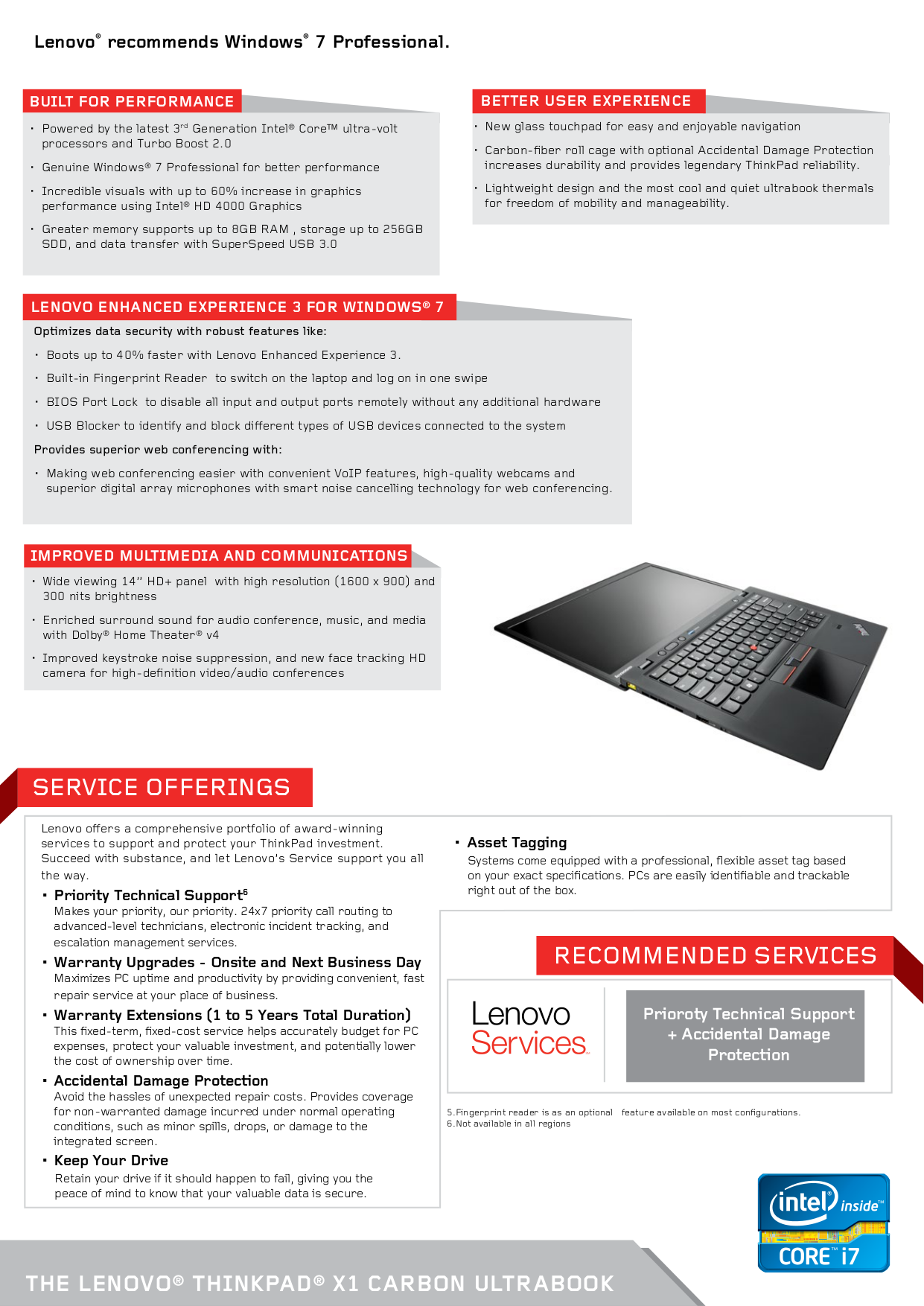 Lenovo Mouse ThinkPad Travel Mouse pdf page preview