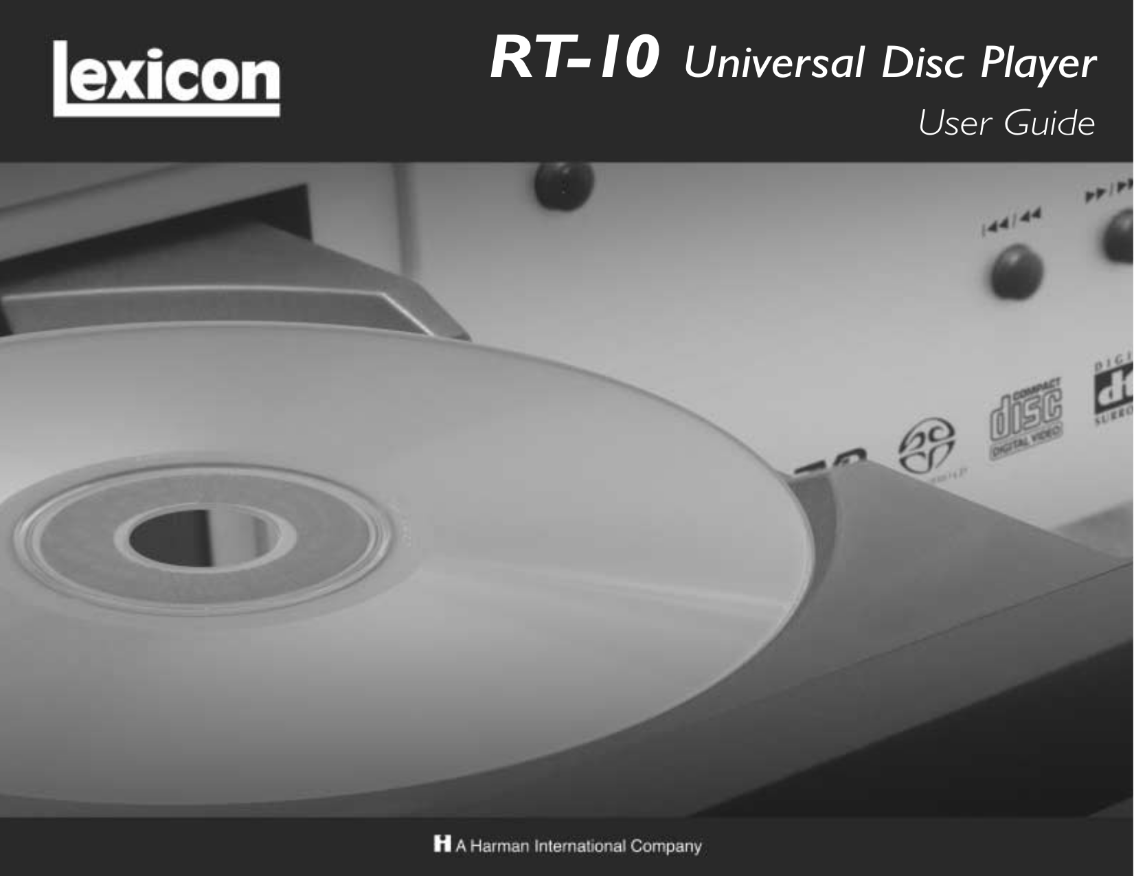 pdf for Lexicon DVD Players RT-10 manual
