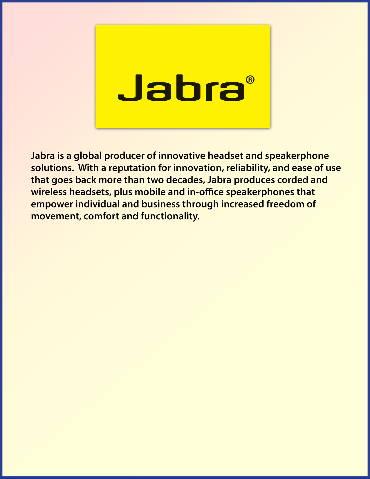 pdf for Jabra Other GN 8000-MPA Telephone Amps manual