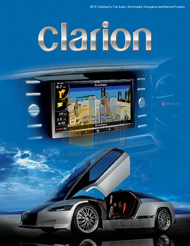 pdf for Clarion Other FM700W Audio-Accessories manual