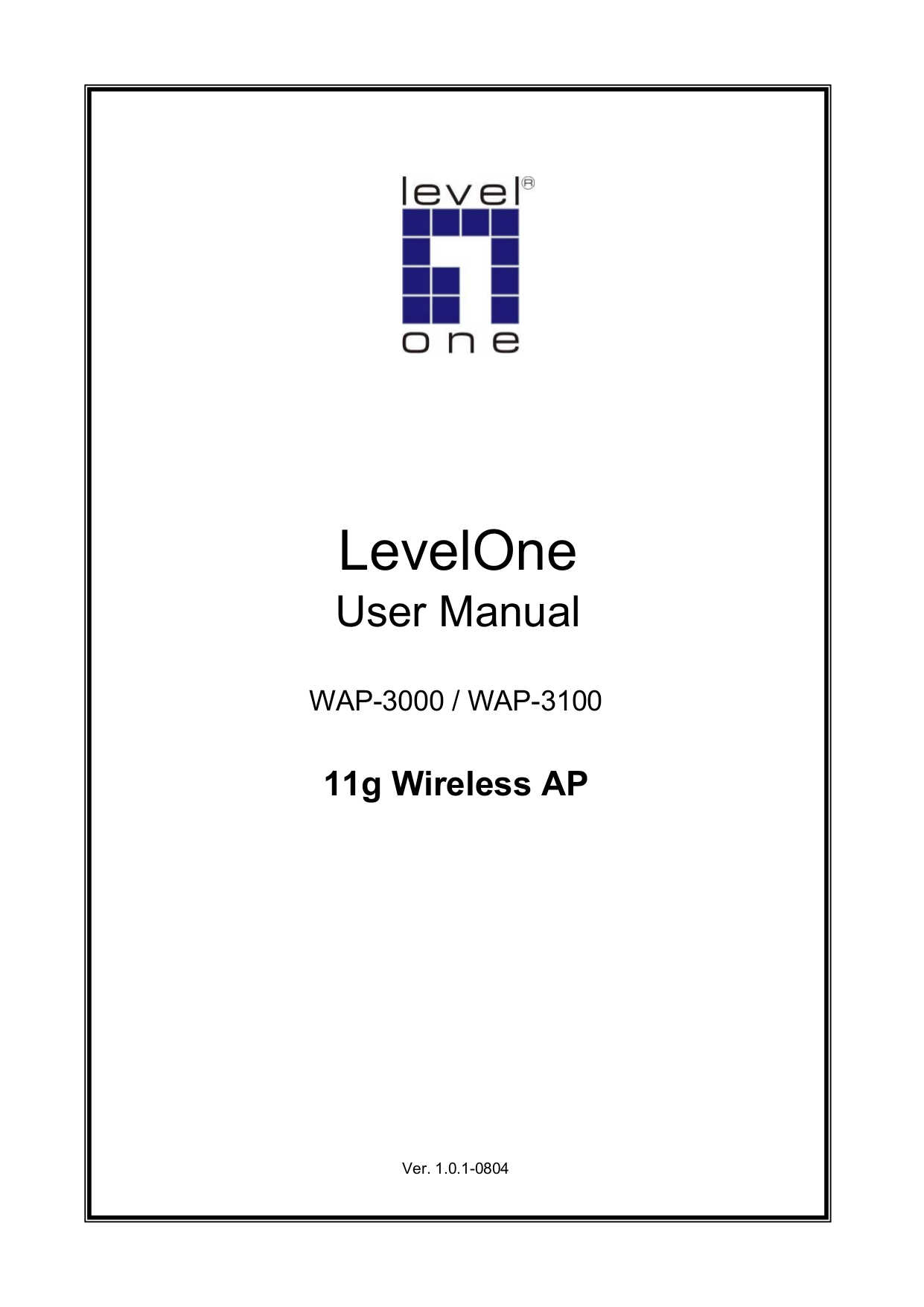 pdf for LevelOne Other WAP-3000 Wireless Access Point manual