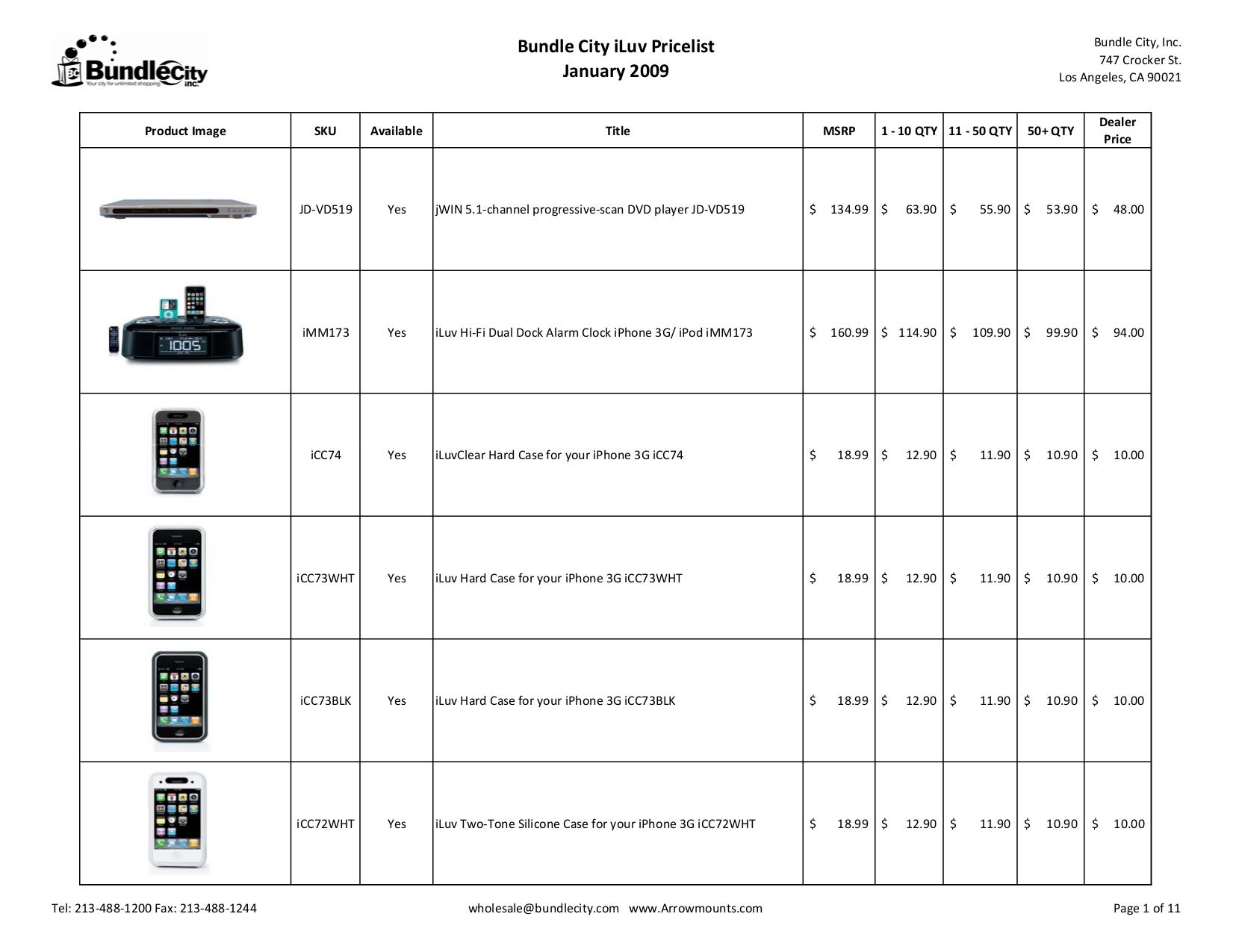 pdf for jWIN DVD Players iLUV i1255 manual