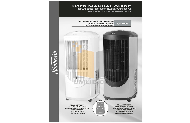 pdf for Avanti Air Conditioner PAC9000 manual