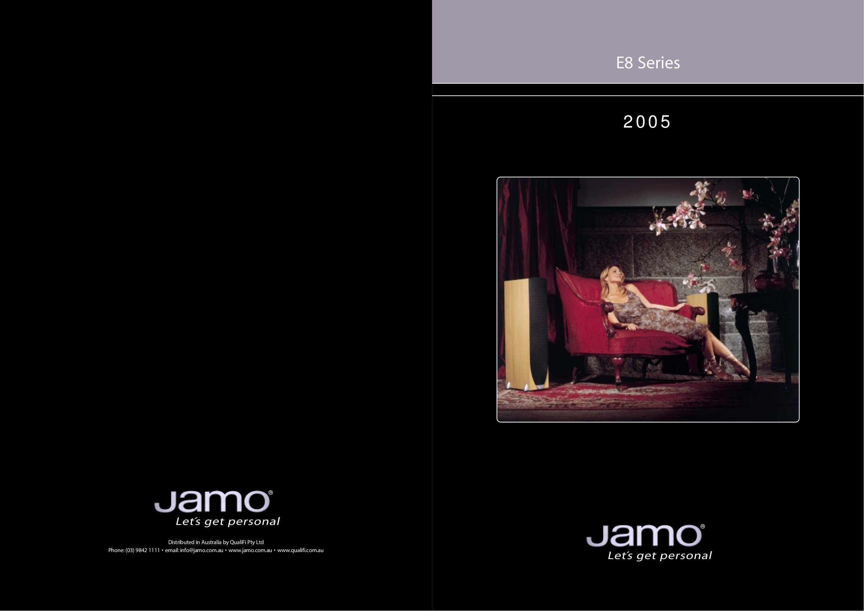 pdf for Jamo Subwoofer SUB 300BA manual