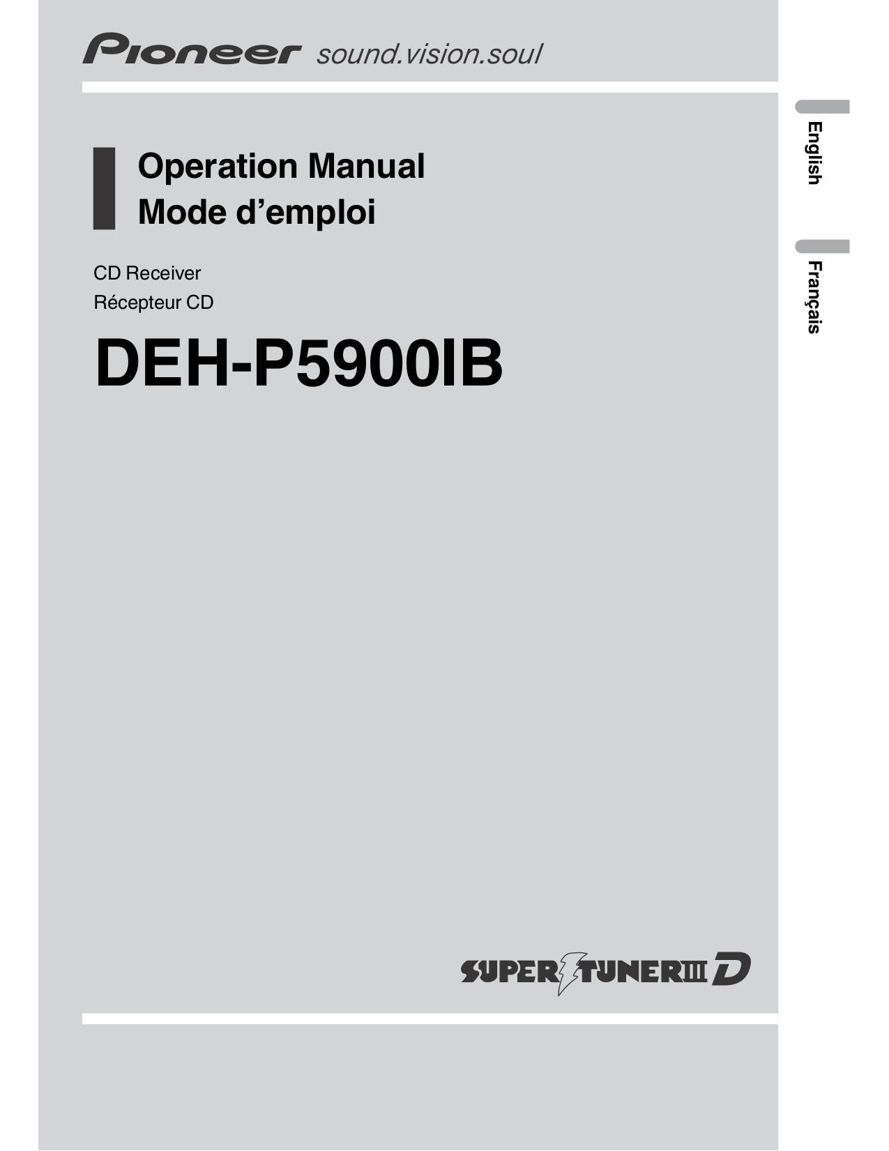 Google operators manual for pioneer deh p8400bh