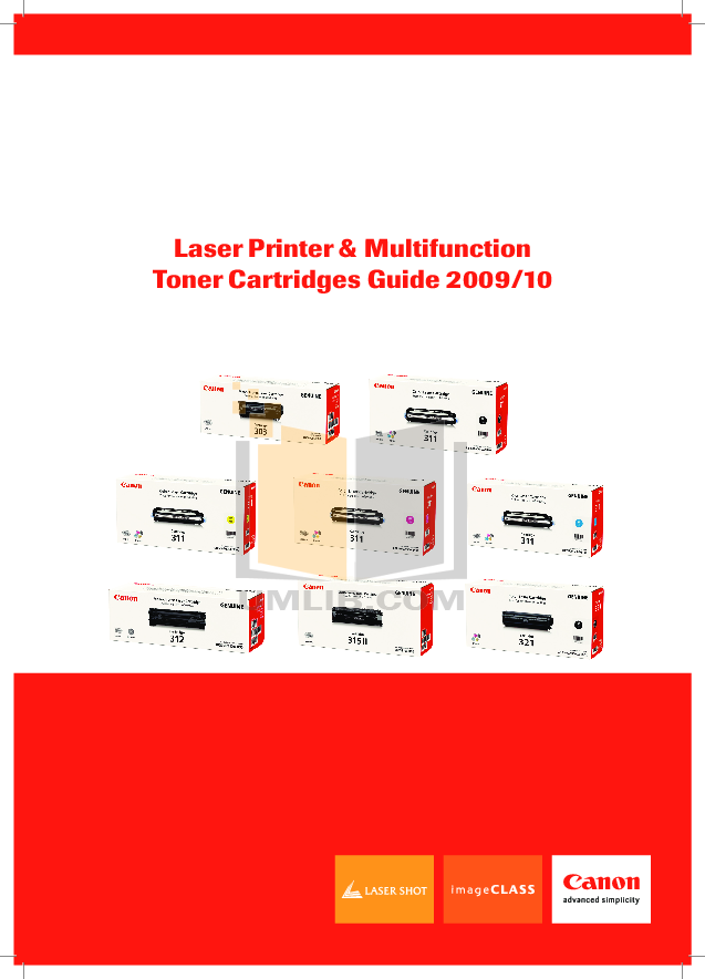 pdf for Canon Printer LBP-2410 manual