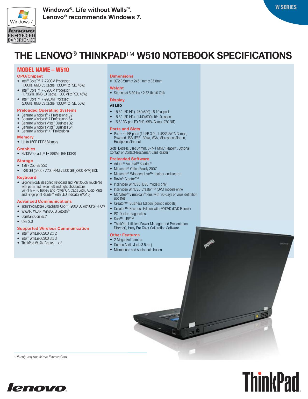 Lenovo Keyboard 55Y9003 pdf page preview