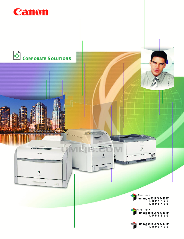 pdf for Canon Printer imageRUNNER LBP-5975 manual