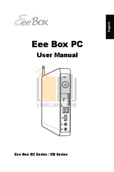 pdf for Asus Desktop Eee Top ET2002 manual
