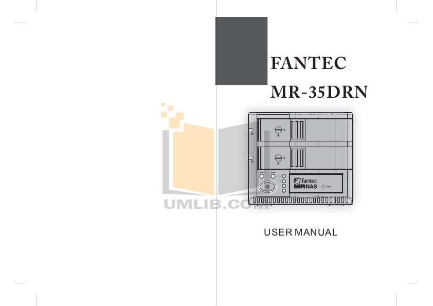 pdf for Fantec Other MR-35HDC Servers manual