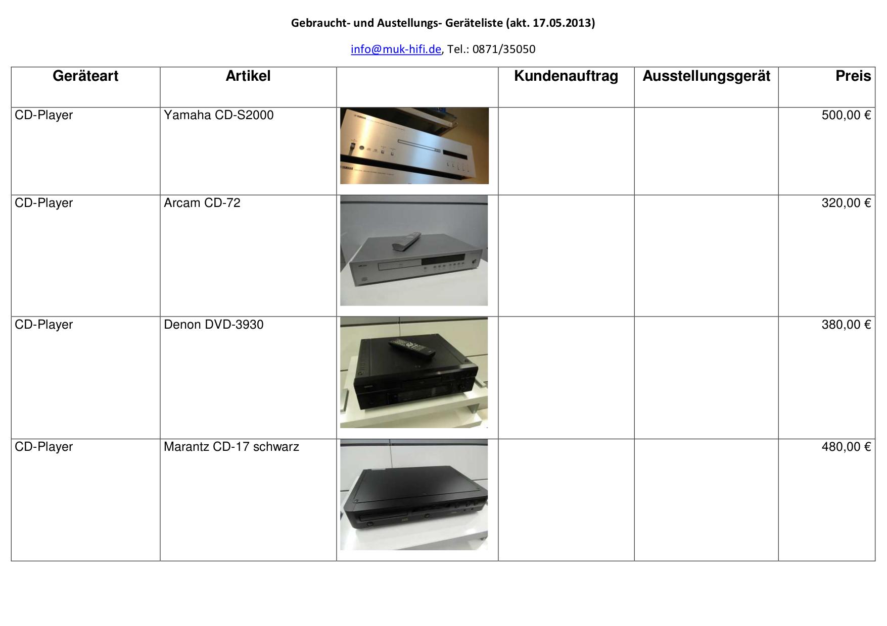 pdf for Marantz CD Player CD-5000 manual