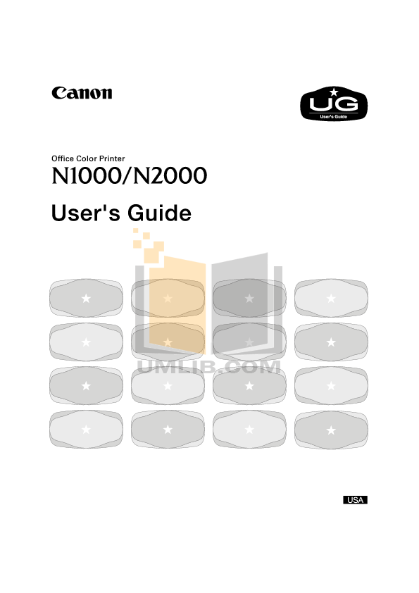 pdf for Canon Printer N1000 manual