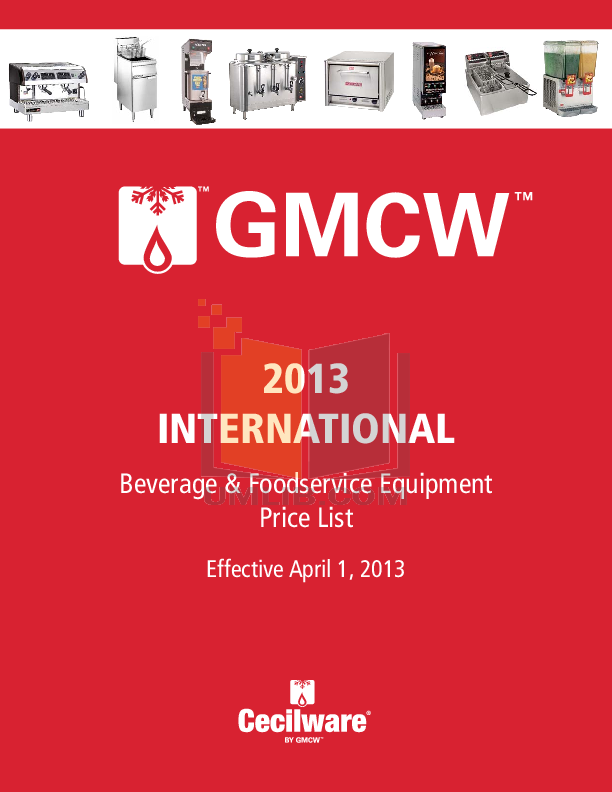 pdf for Cecilware Coffee Maker GB3CP manual
