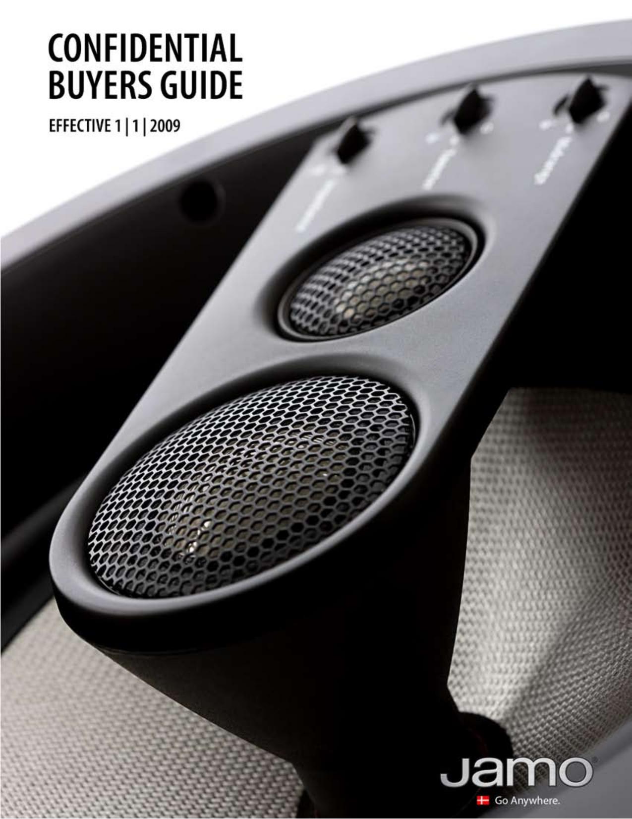 pdf for Jamo Speaker System A 340 HCS 10 manual