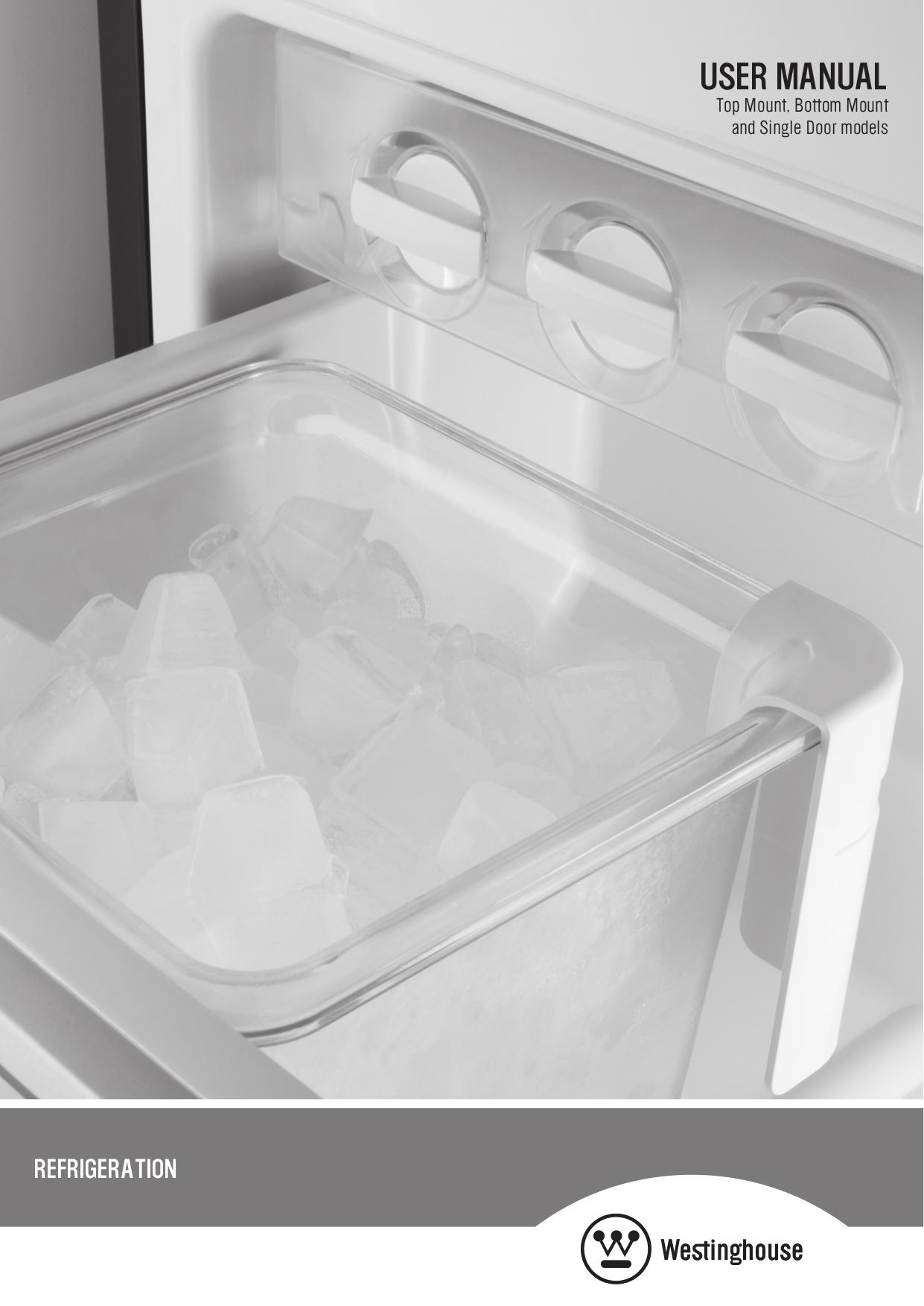 pdf for Westinghouse Refrigerator WWTR1502KW manual