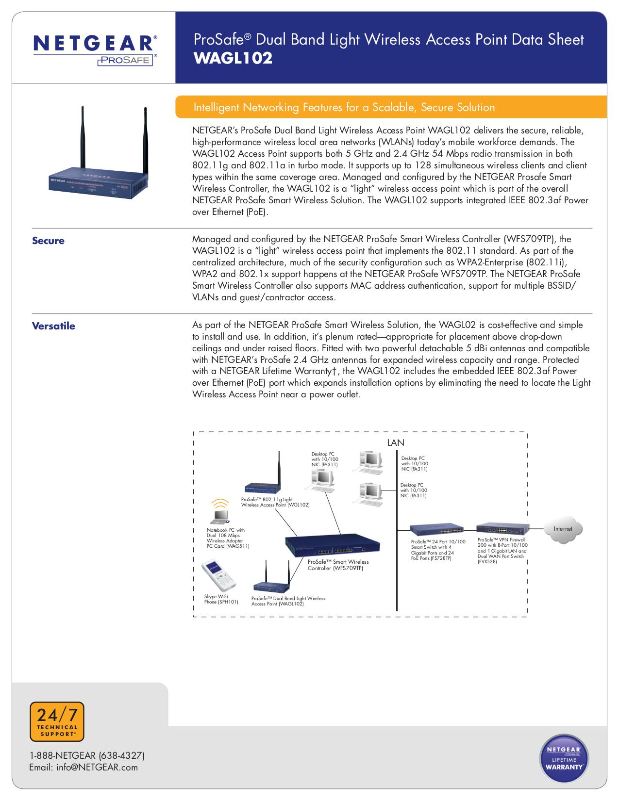 pdf for Netgear Telephone SPH101 manual