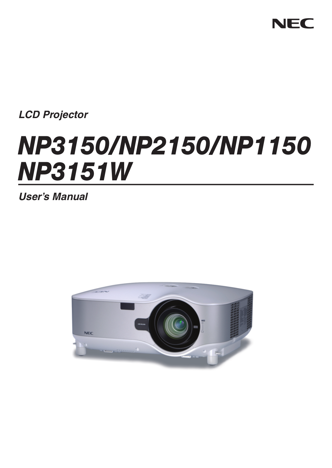 pdf for NEC Digital Camera NP1150 manual