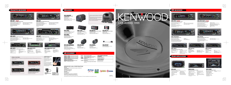 Kenwood dpx 4021 Manual